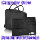 Cargado Solar con Bateria Incorporada