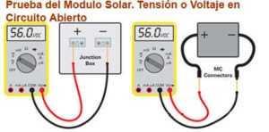 cómo usar un multimetro digital,multímetro,funcionamiento de los paneles solares,medir el voltaje y la corriente de un módulo solar