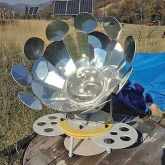 Solar Owen a way to cook without gas