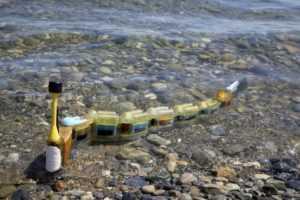 Ciberanguila es un robot acuático con pinta de anguila cuyos sensores detectan la fuente de la polución en las aguas contaminadas.