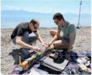 Ciberanguila o Envirobot mide 1,5 metros de largo. Sus sensores registran el estado del agua y transmiten los datos a un ordenador