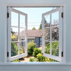 ventilación de la casa de forma natural sin utilizar el ventilador