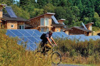 con el uso de paneles solares podríamos prescindir de cualquier otra fuente de energía