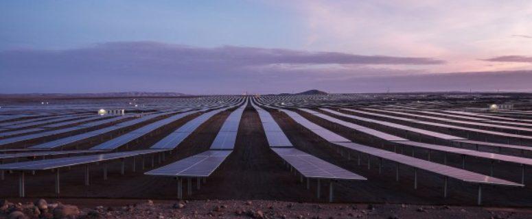 la planta solar más grande del Perú