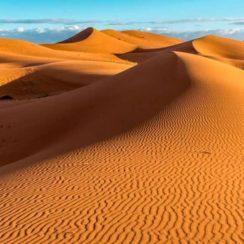 El potencial energético del desierto del Sáhara