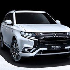 El nuevo Mitsubishi Outlander PHEV, la popular versión híbrida enchufable del SUV de Mitsubishi
