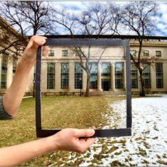 ventanas capaces de reflejar el calor del sol